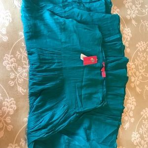 Teal Beach Skirt